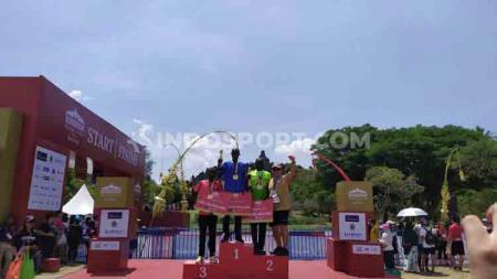 Pelari Kenya dominasi ajang Borobudur Marathon 2019. - INDOSPORT
