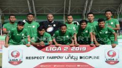 Indosport - Skuat PSMS Medan di Liga 2 2019