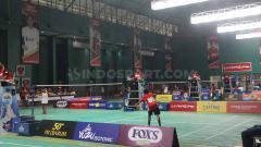 Indosport - Situasi Hari Pertama Audisi PB Djarum yang diselenggarakan di Kota Kudus.