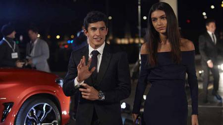 Mantan kekasih Marc Marquez, Lucia Rivera Romero, terlihat mengunggah foto bersama seorang pria misterius. - INDOSPORT