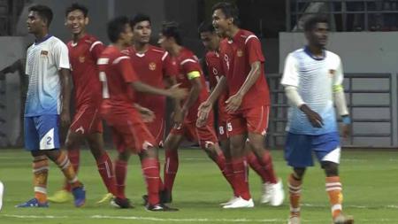 Timnas Pelajar U-18 Indonesia mengawali langkah dengan baik di ajang Asian Schools Football Championship (ASFC) U-18 dengan skor 8-0. - INDOSPORT