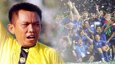 Jimmy Napitupulu, wasit Indonesia yang ikuti perjalanan Piala Dunia 2006. - INDOSPORT