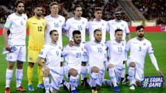 Indosport - Skuat San Marino di Kualifikasi Euro 2020.
