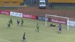 Indosport - Laga pertandingan pada Liga 2 2019 antara PSMS Medan vs Persita Tangerang skor 1-2, Senin (18/19/19).