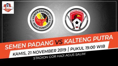 Berikut prediksi pertandingan sepak bola pekan ke-28 kompetisi Shopee Liga 1 2019 antara Semen Padang vs Kalteng Putra FC. - INDOSPORT