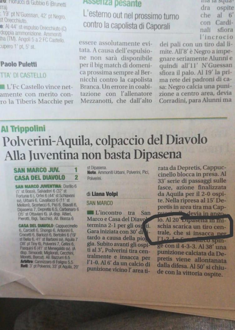 Emir Eranoto cetak gol debut di Liga Italia dan Disorot Media Asing Copyright: Dokumen pribadi Emir Eranoto