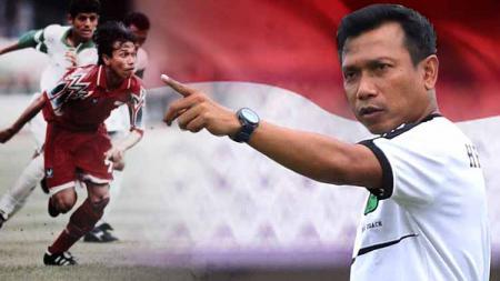 Gol Widodo C Putro dinobatkan jadi gol terbaik Piala Asia. - INDOSPORT