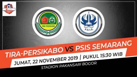 Tira-Persikabo akan menjamu PSIS Semarang dalam lanjutan Liga 1 pekan ke-28, Jumat (22/11/19) pukul 15.30 WIB. Berikut prediksinya. - INDOSPORT