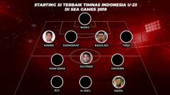 Indosport - Starting XI Terbaik Timnas Indonesia U-23 di SEA Games 2019
