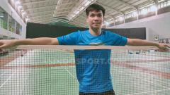 Indosport - Daniel Marthin kerap kali disebut sebagai the next Kevin Sanjaya karena ulah tengilnya di lapangan.