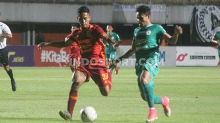 Ada 3 fakta tak lazim yang hiasi kekalahan PSS Sleman 0-1 dari Borneo FC di Liga 1 2019, Rabu (20/11/19) malam. - INDOSPORT