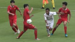 Indosport - Tim Pelajar U-18 Indonesia saat berhadapan dengan China di Asian Schools Football Championship (ASFC) 2019 dan akan menghadapi Malaysia di semifinal.