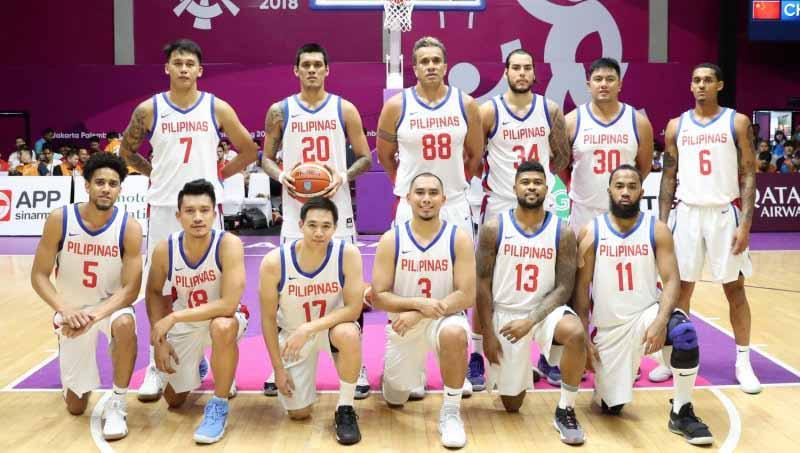 Timnas Basket Filipina. Copyright: sumbar.antaranews.com
