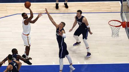 Duel tim basket NBA, Golden State Warriors vs Dallas Mavericks - INDOSPORT