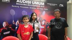 Indosport - Yuga sudah pernah dua kali mengikuti audisi ini gagal lolos hingga orang tuanya rela menjual aset tanah milik mereka hingga kini berhasil lolos ke final audisi.