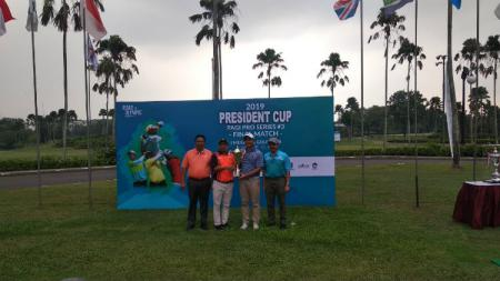 Pegolf Indonesia, Elki Kow sukses merebut gelar juara di ajang President Cup 2019 PAGI Pro Series. - INDOSPORT