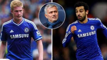 Jose Mourinho pernah gagal kembangkan bakat besar Kevin De Bruyne dan Mohamed Salah saat di Chelsea. - INDOSPORT