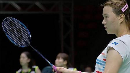 Pebulutangkis ganda putri Korea Selatan, Shin Seung-chan menyebut kalau timnya rela melakukan segala hal demi meraih tiket tampil di Olimpiade Tokyo 2020. - INDOSPORT