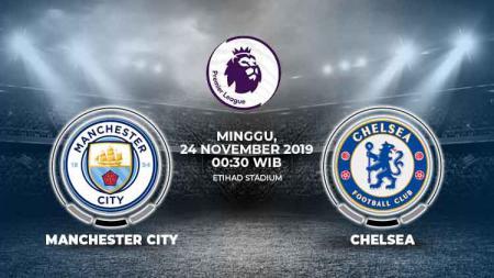 Berikut prediksi Manchester City vs Chelsea dimana dua penyerang mereka akan saling beradu untuk membuktikan siapa yang tertajam di Liga Inggris 2019-2020 - INDOSPORT