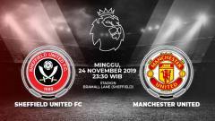 Indosport - Berikut prediksi pertandingan Sheffield United vs Manchester United dalam laga lanjutan Liga Inggris 2019-2020 pekan ke-13 yang akan digelar pada hari Minggu (24/11/2019) pukul 23.30 WIB.