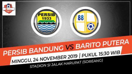 Prediksi laga Persib Bandung yang akan kembali melanjutkan tren positifnya kala menjamu Barito Putera dalam lanjutan Shopee Liga 1 2019 pekan ke-28 - INDOSPORT