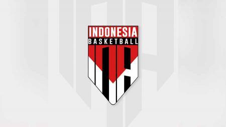 Logo Tim Nasional Bola Basket Indonesia baik Putra maupun Putri, senior maupun Junior. - INDOSPORT