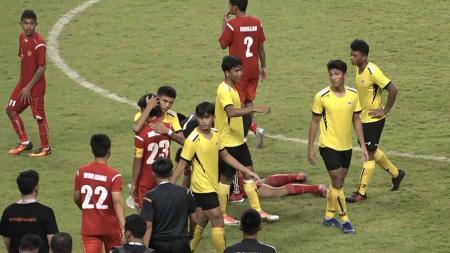 Tim Pelajar U-18 Indonesia gagal melangkah kebabak final Asian Schools Football Championship (ASFC) 2019 edisi ke-47. - INDOSPORT