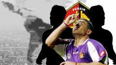 Indosport - Flashback Trio Amerika Latin yang Pernah Buat Persik Kediri Ditakuti di Liga Indonesia