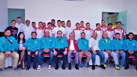 Timnas Polo Air Indonesia untuk SEA Games 2019. - INDOSPORT