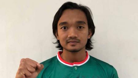 Berikut alasan mengapa pemain terbaik Liga 2 2019 yang kini memperkuat Persita Tangerang, Taufiq Febriyanto belum terpakai di kasta teratas sepak bola Indonesia, Liga 1 2020. - INDOSPORT