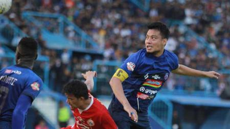 Eks kapten Arema FC Hamka Hamzah mulai mengungkapkan ke klub mana dirinya akan berlabuh di Liga 1 2020, Persita Tangerang? - INDOSPORT