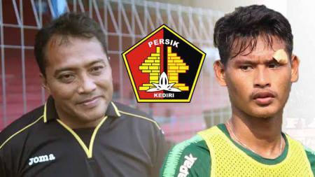 Penyerang muda Septian Satria Bagaskara tampaknya bisa menjadi 'the next' legenda striker tajam Persik Kediri Musikan. - INDOSPORT