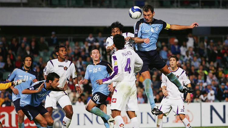 Sydney FC vs Persik Kediri di Liga Champions 2007. Copyright: Cameron Spencer /Getty Images