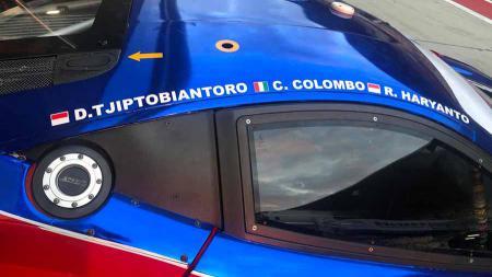 Mobil T2 Motorsports yang akan digunakan Rio Haryanto dan David Tjipto di ajang Asian Le Mans Series. - INDOSPORT