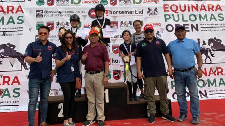 Kejuaraan berkuda Equinara Pulomas Open 2019. - INDOSPORT
