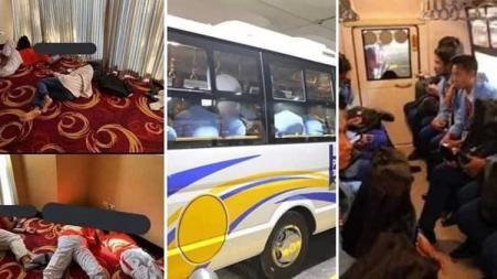 Timnas sepak bola Kamboja U-23 sempat mengaku menjadi korban kacaunya pelayanan di ajang olahraga SEA Games 2019 Filipina. - INDOSPORT