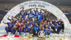 Indosport - Al Hilal Juara Liga Champions Asia 2019 usai mengalahkan Urawa Red Diamonds di final leg kedua, Minggu (24/11/19) malam WIB.