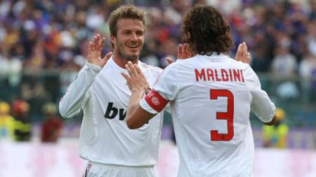 David Beckham dan Paolo Maldini sempat dibuat bengong oleh tiga pemain Timnas Indonesia. Berikut Top 5 News INDOSPORT. - INDOSPORT