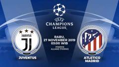 Indosport - Prediksi pertandingan Liga Champions antara Juventus vs Atletico Madrid, Rabu (27/11/19) dini hari mendatang, sepertinya bakal menjadi ajang kedua tim untuk memperebutkan puncak klasemen Grup D.