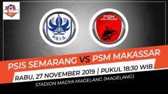 Indosport - Ambisi perpanjang tren apik sepertinya akan menjadi tajuk utama dalam pertandingan Liga 1 2019 antara PSIS Semarang vs PSM Makassar. Berikut adalah prediksi pertandingan kedua tim.