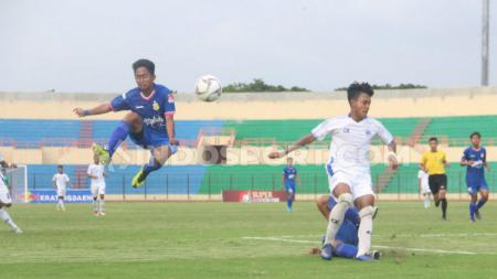 Laga final Liga 1 U-18 antara Bhayangkara FC U-18 vs PSIS Semarang U-18 di Stadion Sultan Agung, Bantul, Senin (25/11/2019) sore. - INDOSPORT
