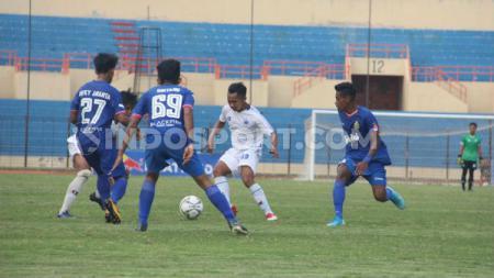 Momen di laga Bhayangkara FC vs PSIS di Final Liga 1 U-18. - INDOSPORT
