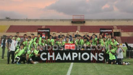 PSIS Semarang harus puas menjadi runner up setelah dikalahkan Bhayangkara FC di final Liga 1 U-18 2019. - INDOSPORT