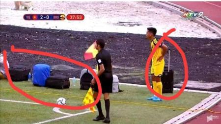 SEA Games 2019, Brunei 'Dipaksa' Bawa Kopernya ke Pinggir Lapangan - INDOSPORT