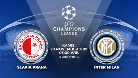 Prediksi pertandingan pertandingan Inter Milan yang akan menghadapi Slavia Praha di Synot Tip Arena dalam lanjutan laga Liga Champions Grup F yang akan digelar pada hari Kamis (28/11/2019) pukul 03.00 WIB. - INDOSPORT