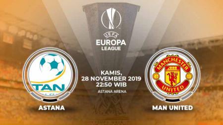 Prediksi Liga Europa Astana vs Manchester United, Kamis (28/11/19). - INDOSPORT