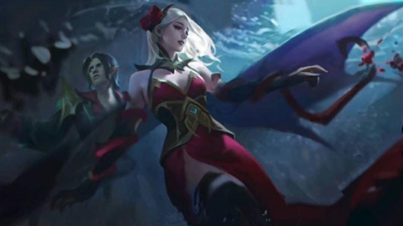 Carmilla, hero bertipe Support di Mobile Legends Copyright: esports.id