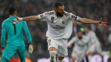 Jelang laga Copa del Rey yang mempertemukan Real Madrid vs Unionistas de Salamanca, skuat asuhan Zinedine Zidane dipastikan akan tampil diperkuat Karim Benzema. - INDOSPORT