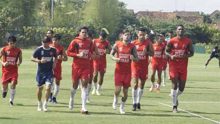 Skuat PSM siap meladeni permainan keras Borneo FC pada laga lanjutan Liga 1 di Stadion Andi Mattalatta, Makassar, Senin (02/12/19). - INDOSPORT