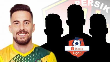 Sejumlah bomber eks Liga 1, termasuk Jonathan Bauman, sepertinya bisa menjadi kandidat untuk isi slot pemain asing Persik Kediri. - INDOSPORT